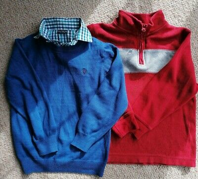 2 Boys jumpers Next and Gymboree age 6 years