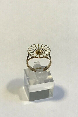 "Georg Jensen Gilded Sterling Silver ""Daisy"" Ring"