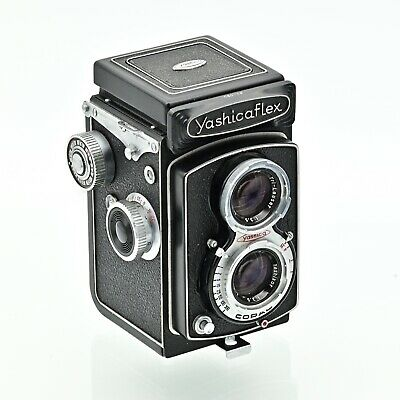 YashicaFlex Model C Twin Lens TLR 120 6x6 Film Camera