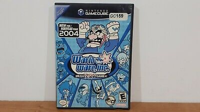 WarioWare, Inc.: Mega Party Game (Nintendo GameCube, 2004) CIB Complete