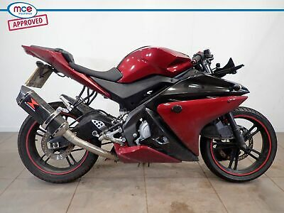 Yamaha YZF R 125 Red 2012 Spares or Repair Restoration Project Damaged