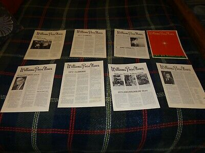 Vintage William Press Newsletters Menands NY