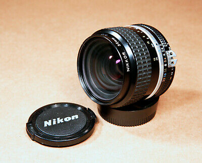 Nikon Nikkor 35mm f/2 AI-s F Mount Wide Angle Fast Lens - CLEAN!