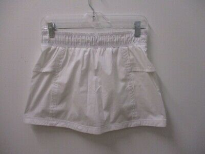 Lululemon Pre-Owned Tennis Skirt with Built-In Shorts White Size 4