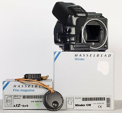 Hasselblad 503CW with Winder and A12 Film magazine