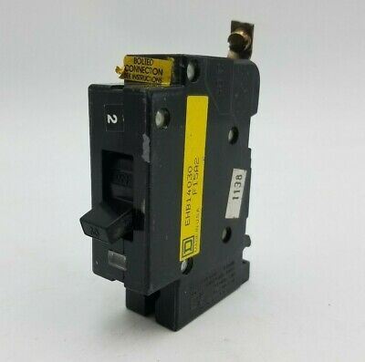 480//277V   EH34030  1 YEAR WARRANTY Square D Circuit Breaker 30A