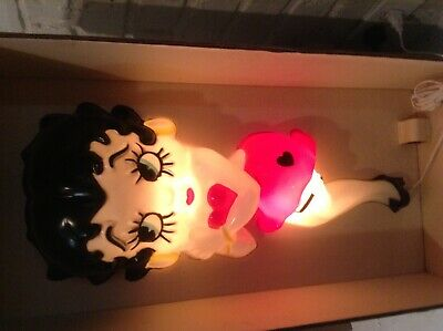 Betty Boop Vintage Light Up Wall Figurine - 24 in tall x 10 in wide Collectible