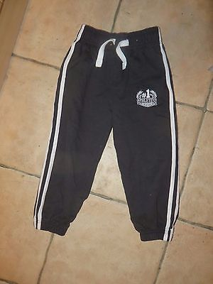 boys boy jogging bottoms trousers age 5 years black