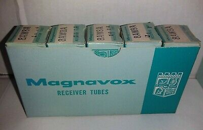 Magnavox Receiver Tube 8AW8A NOS Lot (5) Untested