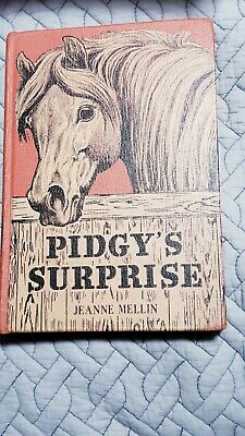 JEANNE MELLIN VINTAGE First Edition Pidgy's Surprise Book 1955 RARE
