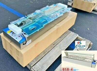 NEW 8 Pan Table Countertop Buffet Steam Warmer Server Catering Glass Guard 110V