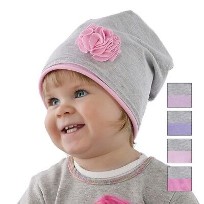 Cotton Baby GIRLS hats Beanie 12-18 months TODDLER HAT CAP