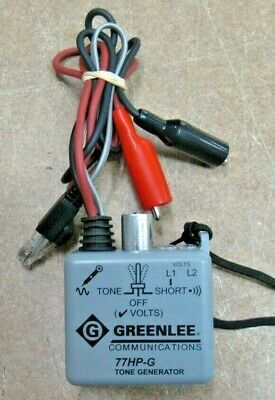 Greenlee Communications 77HP-G Tone Generator