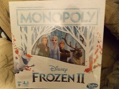 Monopoly - Disney Frozen II Edition Board Game - New - Free Shipping