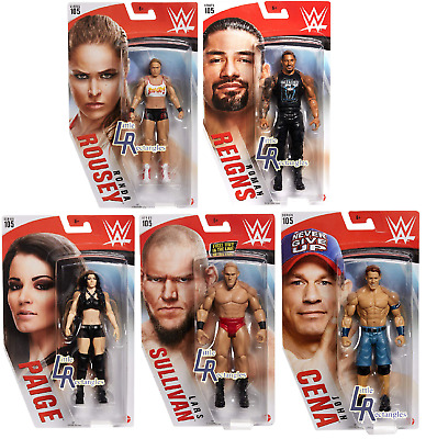 WWE Figures - Basic Series 105 - Mattel - Brand New - Sealed - SHIPPING COMBINES