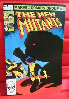 New Mutants 3 and 4 1983 1st Demon Bear Antagonist for the movie  VF- / VF