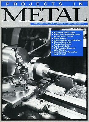 Projects In Metal Magazine Vol. 7 No.2 April 1994