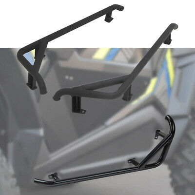 1000 Steel Side Guards Nerf Bars XP,Turbo fits 2015-19 1004-RE Polaris RZR 900