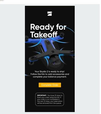 Skydio 2 Order Notification - Order Your Drone Directly From Skydio!
