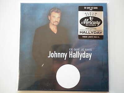 Johnny Hallyday cd album digipack Ce Que Je Sais