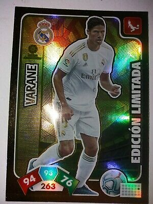 Varane Edición Limitada Adrenalyn Xl 2019-20