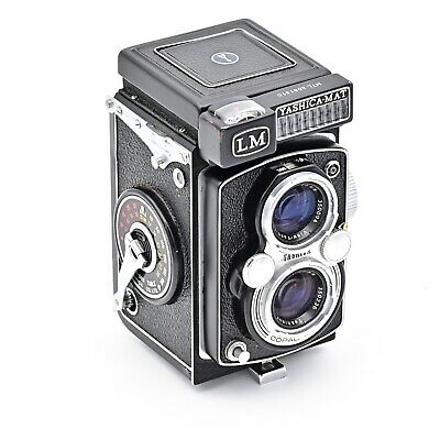 YashicaMat LM Twin Lens TLR 120 6x6 Film Camera.  EXCELLENT+++