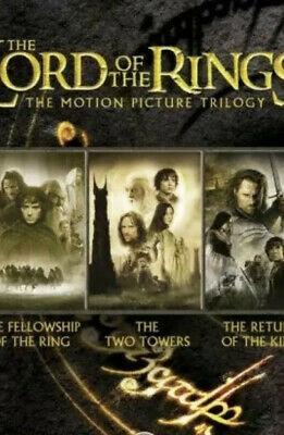 The Lord of the Rings Trilogy (Theatrical Edition Box Set) [DVD], , Very Good, D