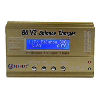 FP- HTRC Imax B6 V2 80W Professional Digital Battery Balance Charger Discharger