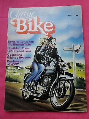 Classic Bike Magazine No1. First Issue. March 1978