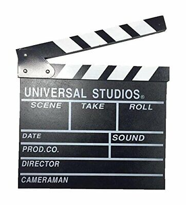 "Large 11"" x 12"" Film Clapperboard Clapper Board Hollywood Movie Stage Prop UK"