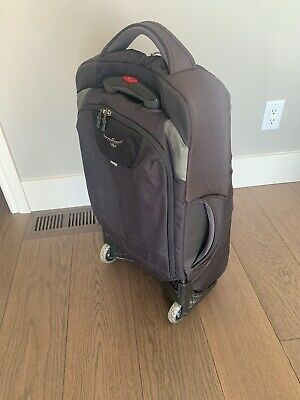 """OSPREY SOJOURN 60L/25"""" Gray Backpack/Rolling Travel Luggage Wheeled"""