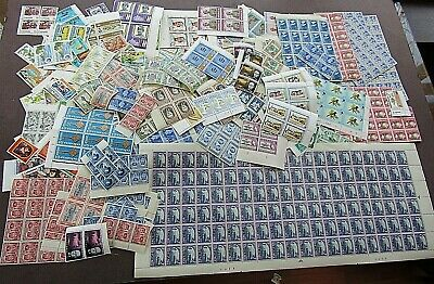 British Empire/Commonwealth - Fine Colln Of Mnh Blocks And Loose Issues - 1200+