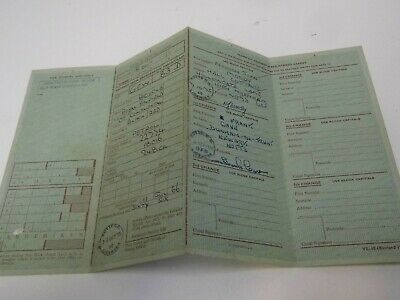 Royal Enfield 1966 Log Book