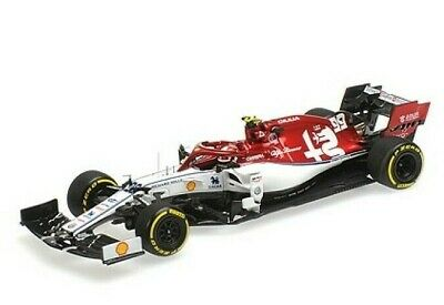 Minichamps 1:43 2019 Alfa Romeo Racing F1 C38 - Antonio Giovinazzi - Repaired