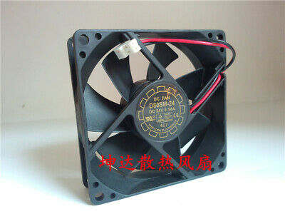 1pcs  D80BM-24 80 * 80 * 25MM 8025 24V 0.14A double ball inverter cooling fan