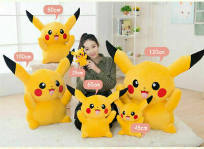 Giant Large Pokemon Pikachu Plush Soft Toy Stuffed Doll Kids Birthday Gifts