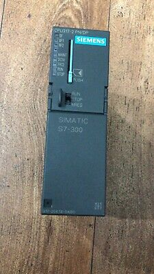 Siemens Simatic S7-300 Cpu 317-2 Pn/Dp 6Es7317-2Ek14-0Ab0 Mit 4Mb Mmc Tested