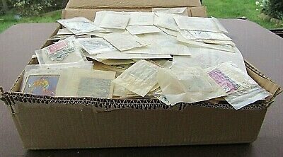 Box Containing A Large Quantity Of Stamps In 400+ Glassine Bags - All World