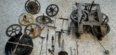 New Haven American Wall Clock Movement & Similar Clock Spares. For Spares / Rep