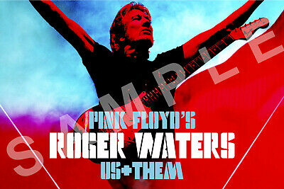ROGER WATERS 12x18 US & THEM TOUR POSTER PINK FLOYD CONCERT BAND LIVE 2