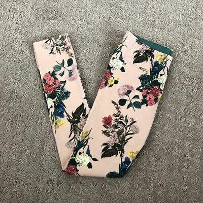 Zara Girls Floral Leggings, Size 11/12
