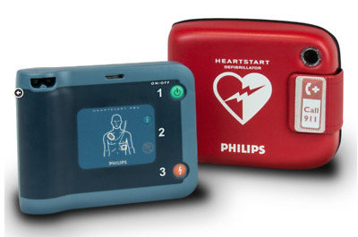 Philips Heartstart FRx- AED and Case Only- Biomed Recertified