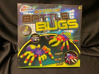 Grafix - Glow In The Dark - Battle Bugs - Paint Glow Play