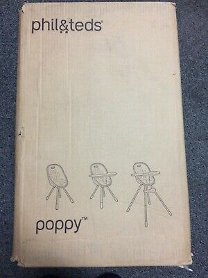 Phil And Teds Poppy High Chair New In Box