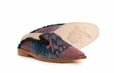 6 US Free People Womens Butterfly Effect Mule Shoes Size 36 EU