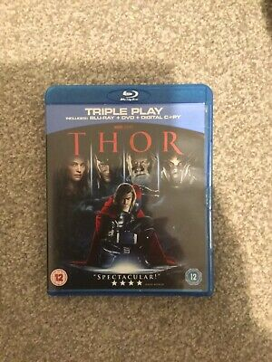 Thor (Blu-ray and DVD Combo, 2011, 2-Disc Set)