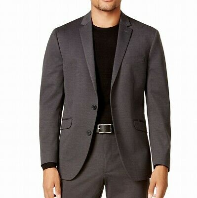 Kenneth Cole Reaction Mens Suit Separate Gray Size 44 Long Two Button $187- 130