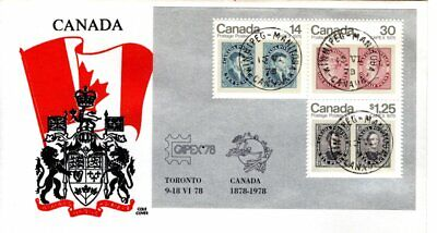 1978 #756a CAPEX'78 S/S FDC with Cole cachet
