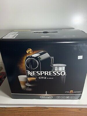 DeLonghi CitiZ & Milk Espresso Machine - Black