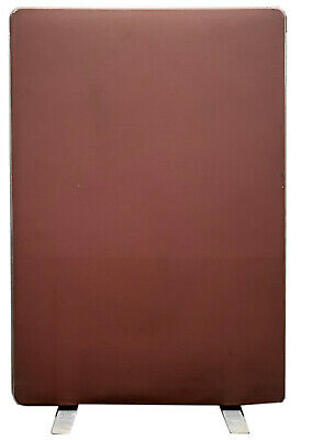 Freestanding Office Dividing Panels 1800mm (H) x 1200mm (W) x 80mm thick, 3off